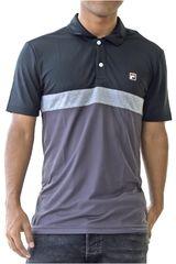 Fila Negro /gris de Hombre modelo men polo shirt block melange ii Deportivo Polos