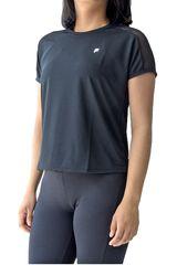 Fila Negro / blanco de Mujer modelo women blouse mesh Polos Deportivo