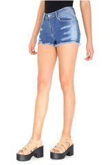 COTTONS JEANS Azul de Mujer modelo fanny Casual Shorts