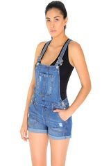 Overall de Mujer COTTONS JEANS Azul camila