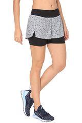 Puma Blanco / negro de Mujer modelo Blast 2in1 Short W Deportivo Shorts