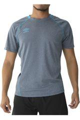 Umbro Navy de Hombre modelo training jersey Deportivo Camisetas Polos