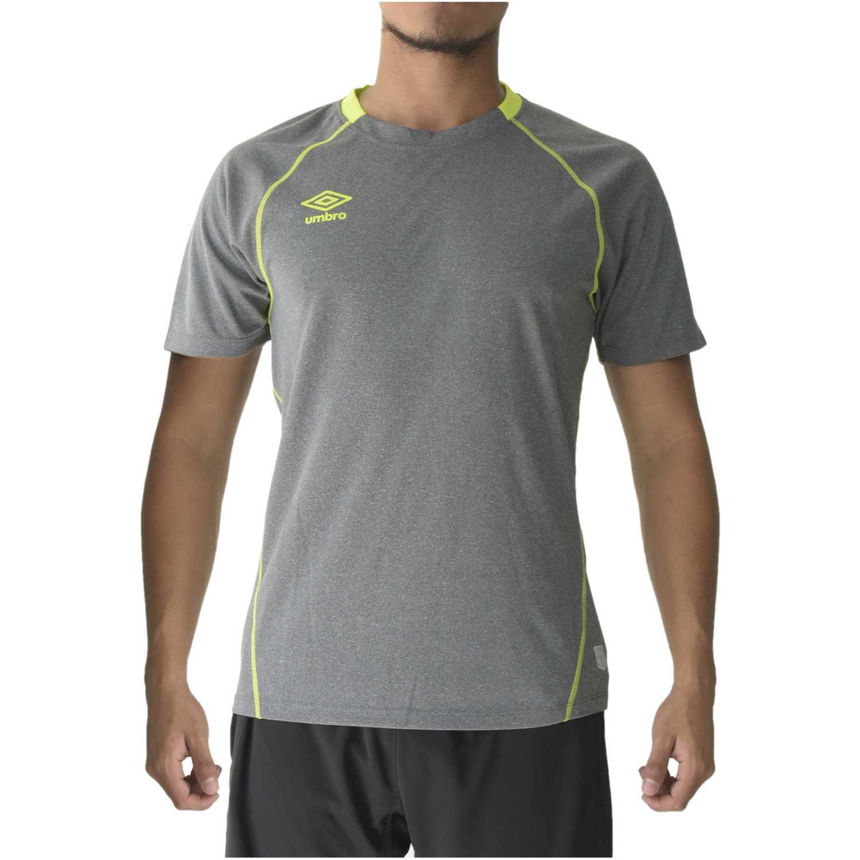 Camiseta de Hombre Umbro Gris training jersey