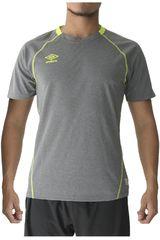 Umbro Gris de Hombre modelo training jersey Deportivo Camisetas Polos