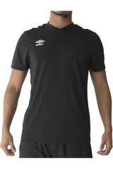 Umbro Negro de Hombre modelo poly tee Polos Deportivo Camisetas