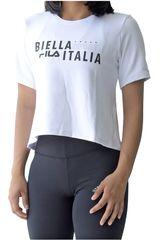 Fila Blanco de Mujer modelo women blouse biella Polos Deportivo