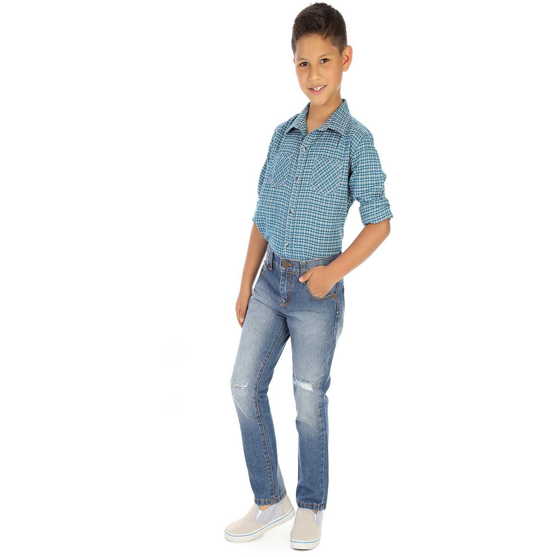 Pantalón de Niño COTTONS JEANS Azul baco