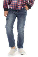 COTTONS JEANS Azul de Jovencito modelo roberto Pantalones Casual