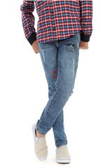 COTTONS JEANS Azul de Jovencito modelo giner Pantalones Casual