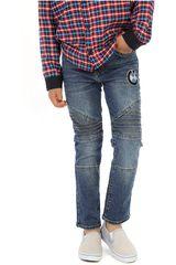 COTTONS JEANS Azul de Jovencito modelo abel Casual Pantalones