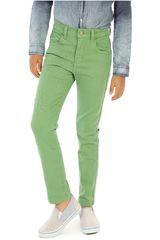 COTTONS JEANS Verde de Jovencito modelo roberto Pantalones Casual