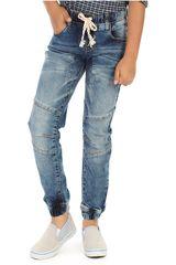 COTTONS JEANS Azul de Jovencito modelo fabricio Pantalones Casual