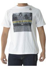ONEILL Blanco de Hombre modelo wavelength tee Polos Casual