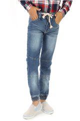 COTTONS JEANS Azul de Jovencito modelo raul Pantalones Casual