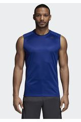 Adidas Azulino de Hombre modelo d2m sl plain Deportivo Polos