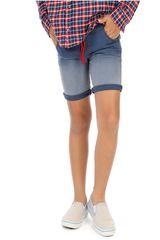COTTONS JEANS Azul / blanco de Jovencito modelo anibal Casual Shorts