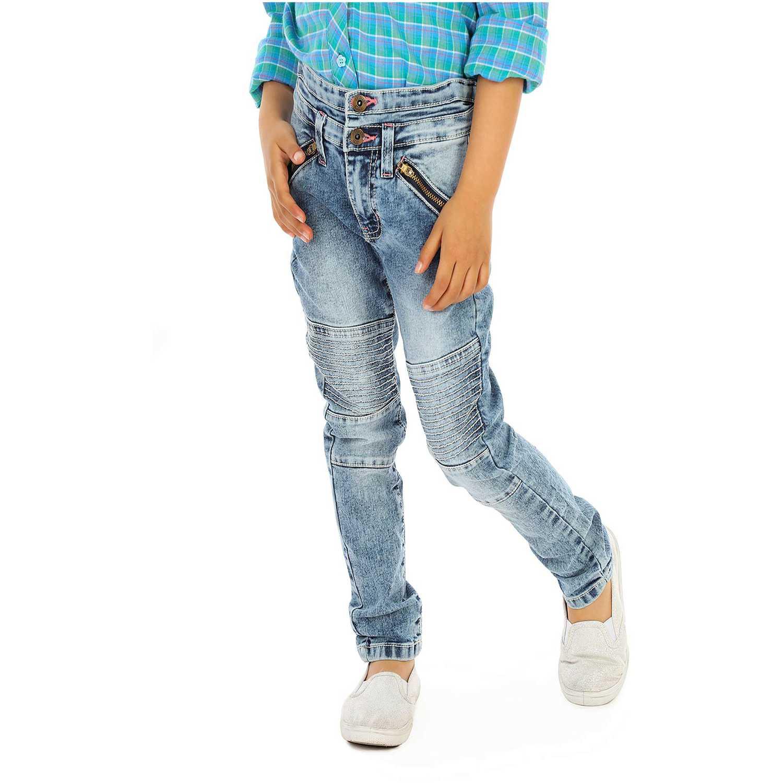 Pantalón de Niña COTTONS JEANS Azul susy