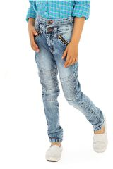 COTTONS JEANS Azul de Jovencita modelo susy Casual Pantalones