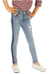 COTTONS JEANS Celeste de Jovencita modelo pria Casual Pantalones