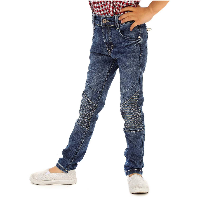Pantalón de Niña COTTONS JEANS Azul renny