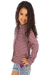 Blusa de Niña COTTONS JEANS rosita Rojo / blanco