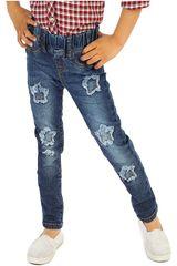 COTTONS JEANS Azul de Jovencita modelo clarita Pantalones Casual