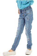 COTTONS JEANS Celeste de Jovencita modelo clarita Casual Pantalones