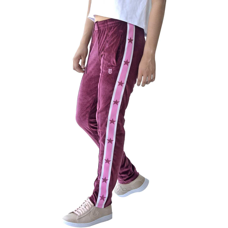 Pantalón de Mujer Converse Guinda miley cyrus track pant