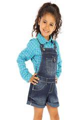 COTTONS JEANS Azul de Jovencita modelo wanda Overoles Casual