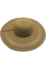 Sombrero de Mujer Platanitos Marron U7-59
