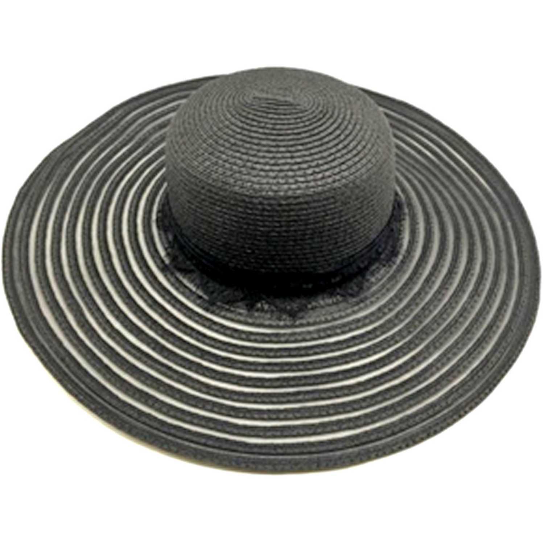 Sombrero de Mujer Platanitos Negro uw4-3