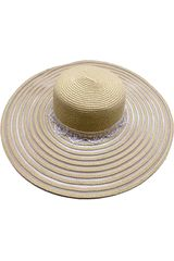 Sombrero de Mujer Platanitos Nat UW4-3