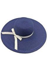Sombrero de Mujer Platanitos Azul U7-56