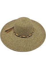 Sombrero de Mujer Platanitos Marron T7-33-A