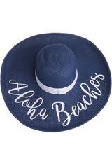 Sombrero de Mujer Platanitos Azul UA7-6-A