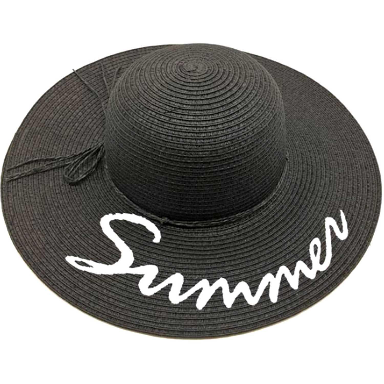 Sombrero de Mujer Platanitos Negro u7-91-a