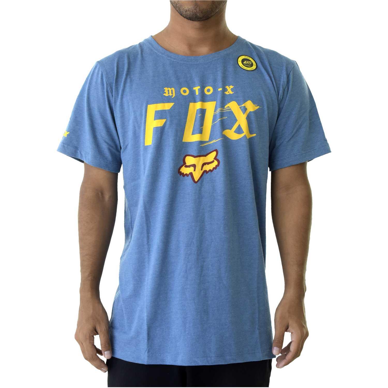 Polo de Hombre Fox Acero moto-x ss premium