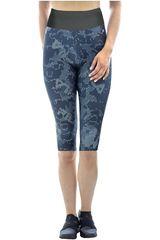 Fila Plomo / gris de Mujer modelo women long shorts life long print Deportivo Shorts