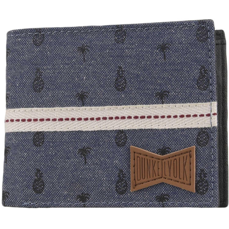 Billetera de Hombre Dunkelvolk Azul palmar