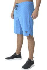 Dunkelvolk Azul de Hombre modelo cool Casual Shorts