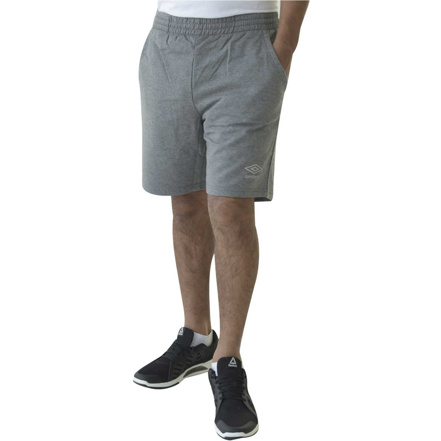 Short de Hombre Umbro Gris core knit short