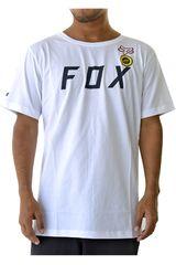 Fox Blanco / acero de Hombre modelo grizzled ss tech Deportivo Polos