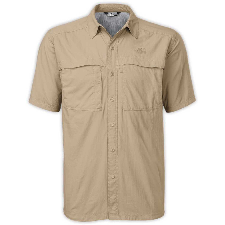 Camisa de Hombre The North Face Beige m s/s cool horizon shirt
