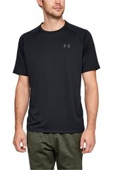 Polo de Hombre Under Armour Negro ua tech 2.0 ss tee-blk