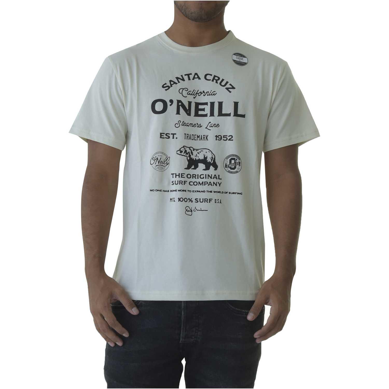 Polo de Hombre ONEILL Beige lm muir t-shirt