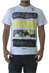 ONEILL Blanco de Hombre modelo lm photo filler t-shirt Casual Polos