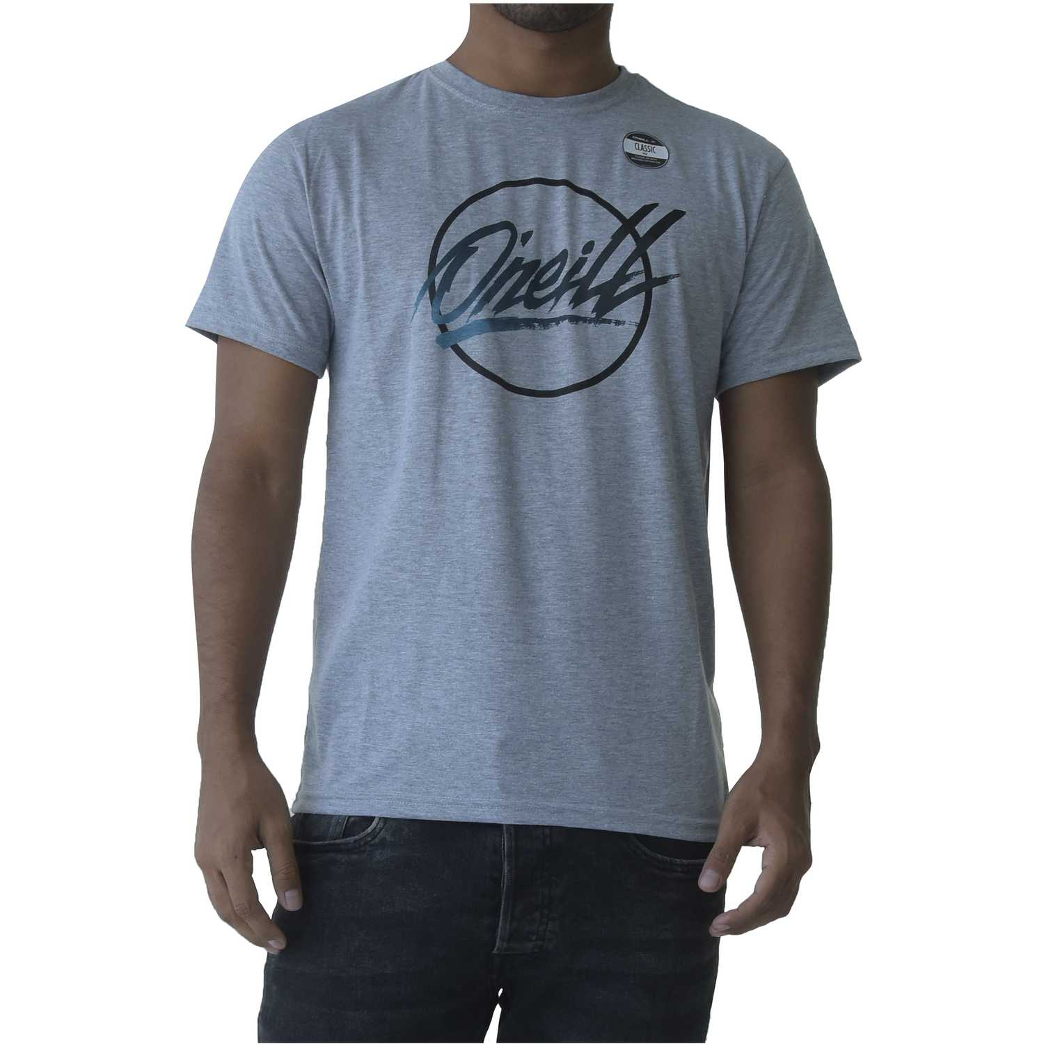 Polo de Hombre ONEILL Gris pm re-issue hybrid t-shirt
