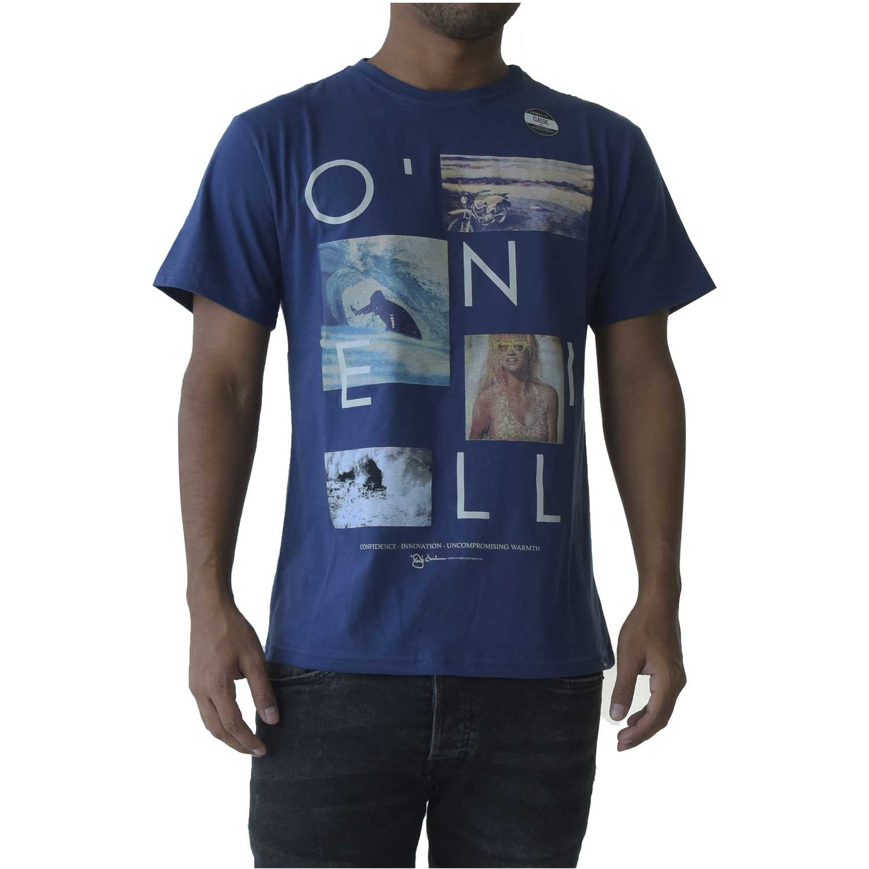 Polo de Hombre ONEILL Azul lm neos t-shirt