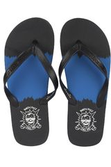 Dunkelvolk Negro / azul de Hombre modelo splash Playeras Sandalias Deportivo