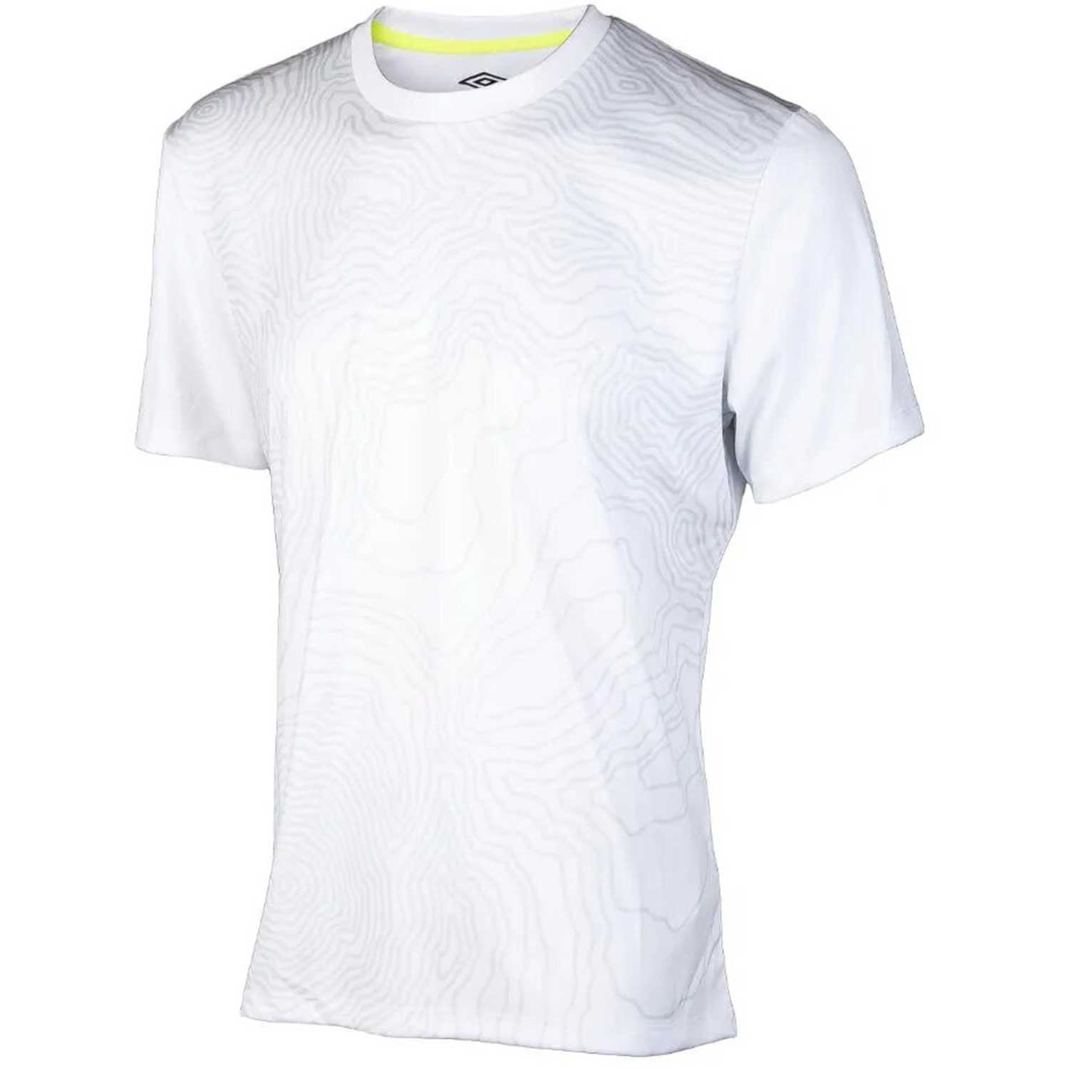 Polo de Hombre Umbro Gris silo training contour graphic tee